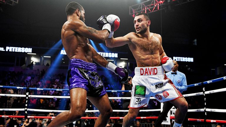 Avaneysan proved toughness in points loss to Lamont Peterson last February