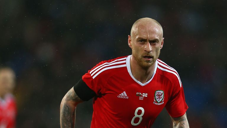 David Cotterill won 24 caps for Wales before retiring from football in October 2018