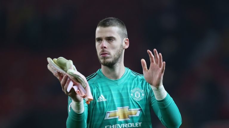 De Gea and United remain locked in negotiations over a new long-term deal