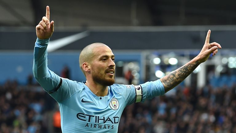 David Silva has been in fine form for City this season