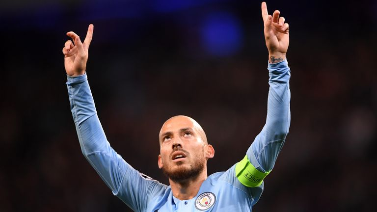 David Silva is the in-form central midfielder