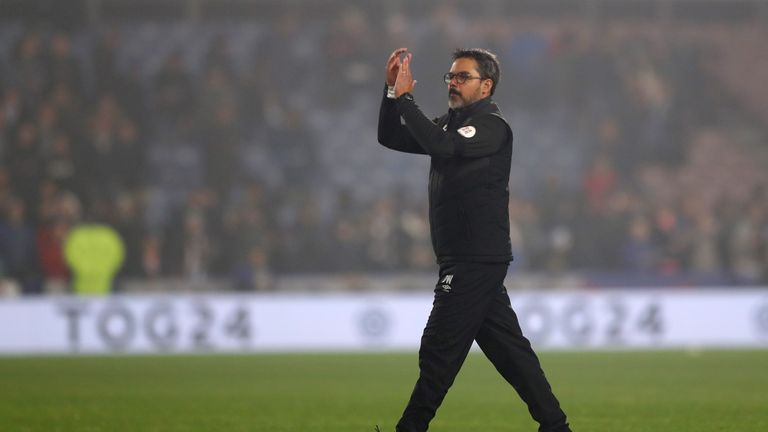 David Wagner has praised his side's mentality