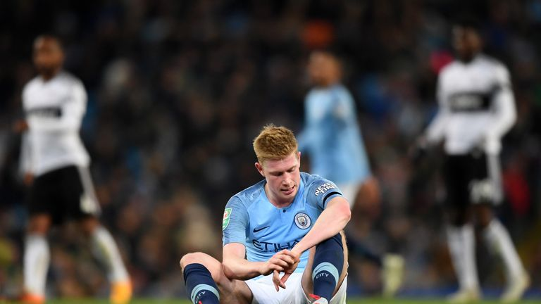 Kevin de Bruyne has only just returned to full fitness after a lengthy injury absene