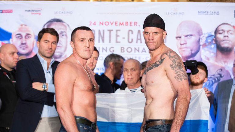 Denis Lebedev battles unbeaten Mike Wilson