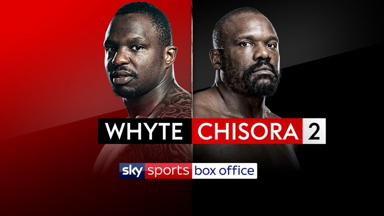 Whyte vs Chisora 2: Simple and easy ways to book the Sky Sports Box Office Christmas cracker | Boxing News |