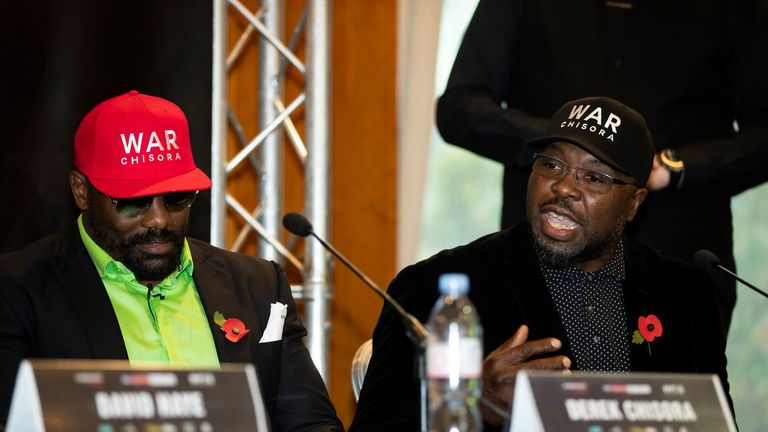 Dereck Chisora and Don Charles