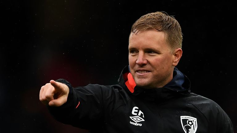 Redknapp says Bournemouth manager Eddie Howe would be the perfect fit for Spurs if Pochettino did move on