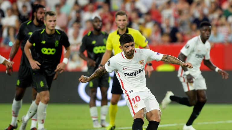 Arsenal are reportedly monitoring Sevilla midfielder  Ever Banega