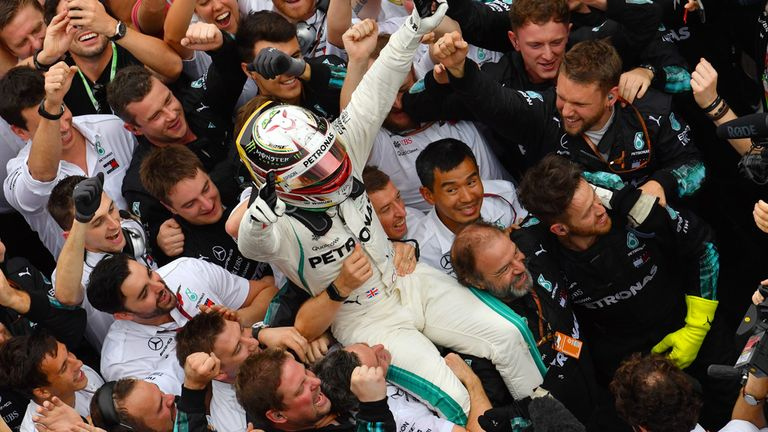 Mercedes win fifth consecutive F1 Constructors' Championship | F1 News