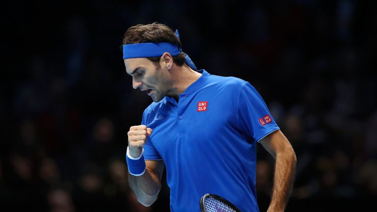 during Day Five of the Nitto ATP Finals at The O2 Arena on November 15, 2018 in London, England.