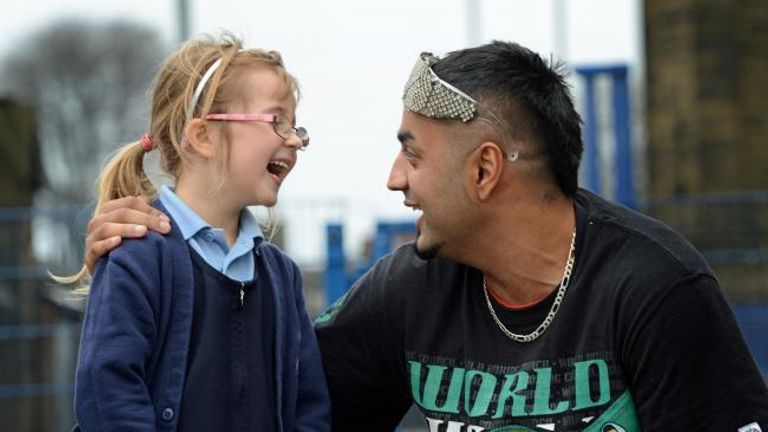 Batista has been taking his anti-bullying message to schools for several years, with the support of the World Boxing Council