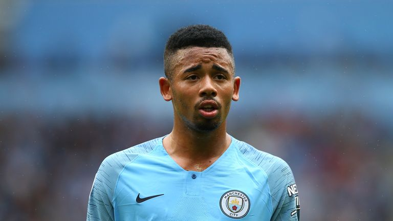Sterling strikes twice as City hit Saints for six