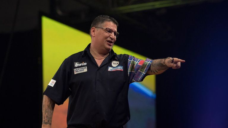 Gary Anderson's best showing at the World Grand Prix saw him reach the final in 2016