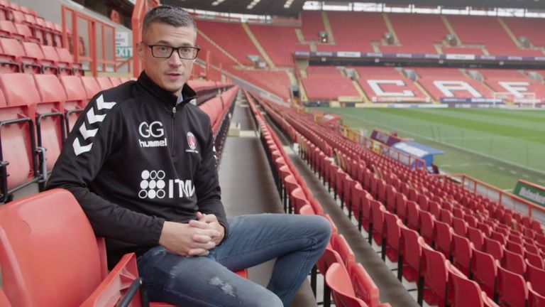 Gary Ginnaw has gone from attending games at The Valley with his dad as a young boy, to now playing and managing Charlton's LGBT-inclusive team, Invicta FC