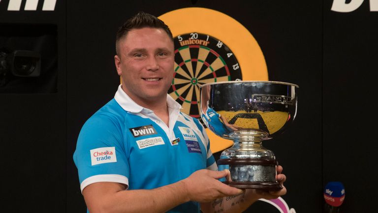 Gerwyn Price became only the fifth man to lift the Grand Slam of Darts title last month