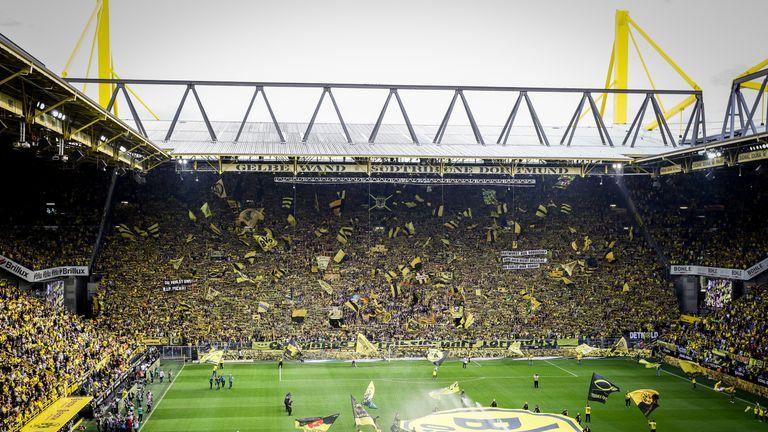 Borussia Dortmund's 81,365-capacity Westfalenstadion