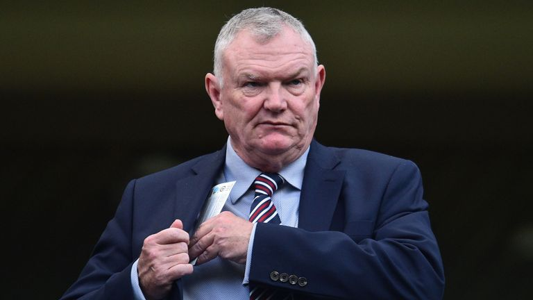 Greg Clarke is now a FIFA vice-president