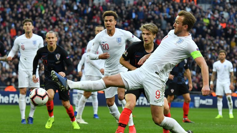 England will play Netherlands in the Nations League semi-finals after coming through a group of Spain and Croatia