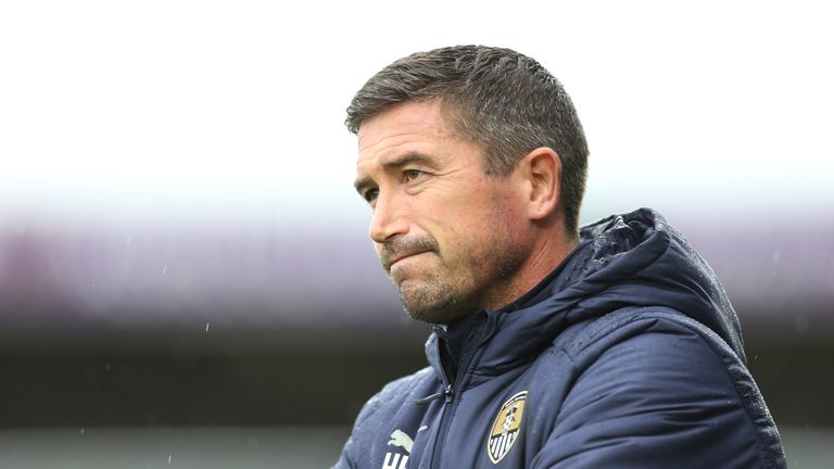 Harry Kewell was sacked by Notts County after less than three months in the role