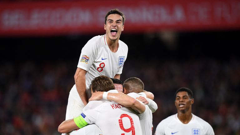 Could Harry Winks provide greater control for England in midfield?