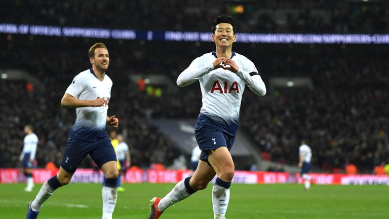 Premier League goals: Leroy Sane nets double and Heung-min Son scores wondergoal | Football News |