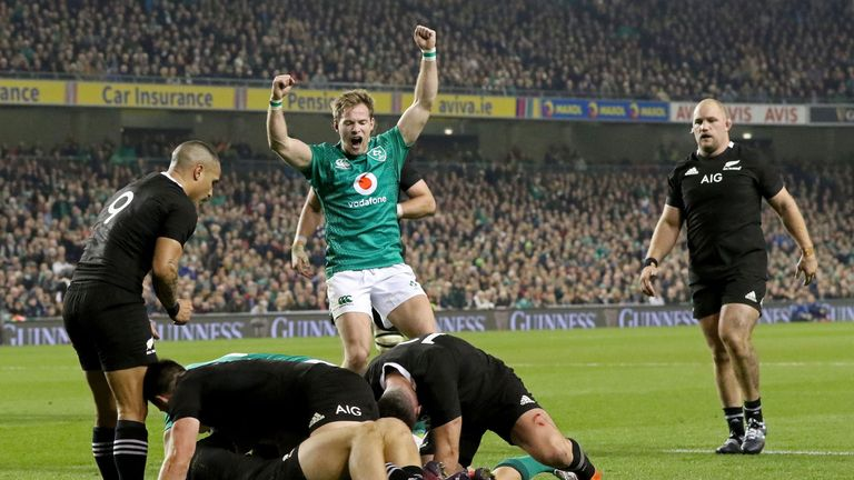 Ireland know full well what it's like to triumph over the All Blacks