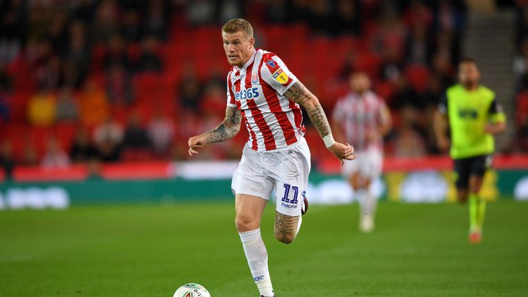 McClean received abuse for not wearing a poppy during Stoke's game with Middlesbrough