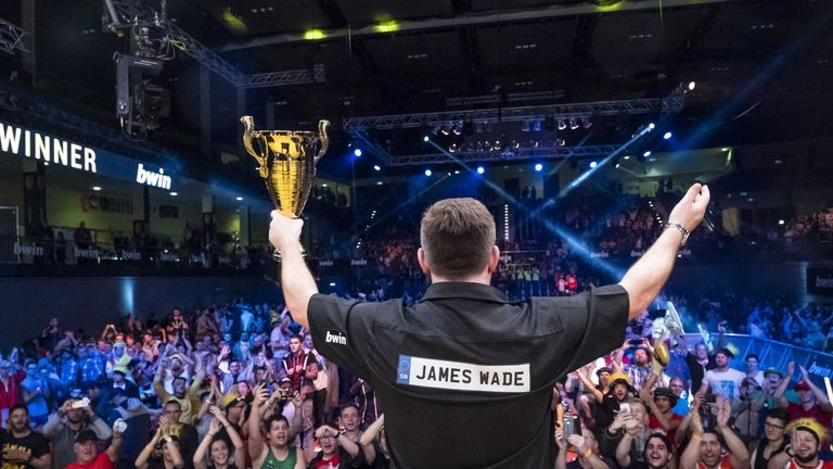 James Wade is looking for his third televised title in as many weeks