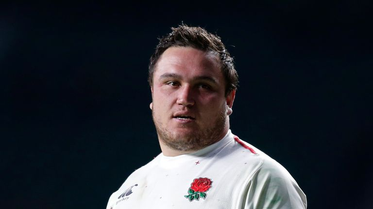 England's lineout malfunctioned badly with Jamie George on the pitch