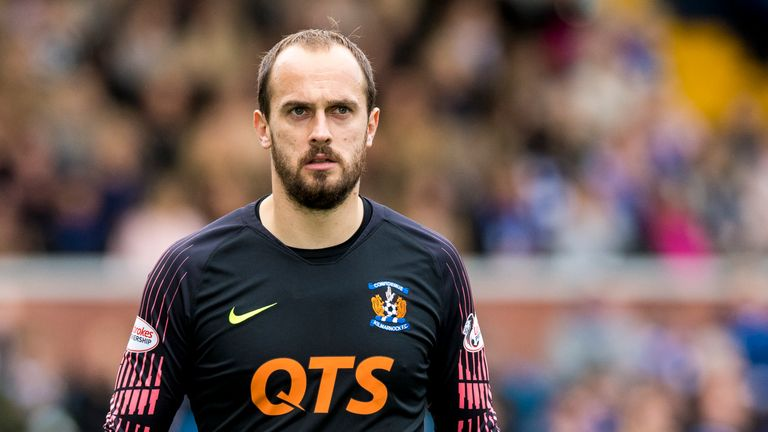 Kilmarnock goalkeeper Jamie MacDonald has earned a call-up to the Scotland squad