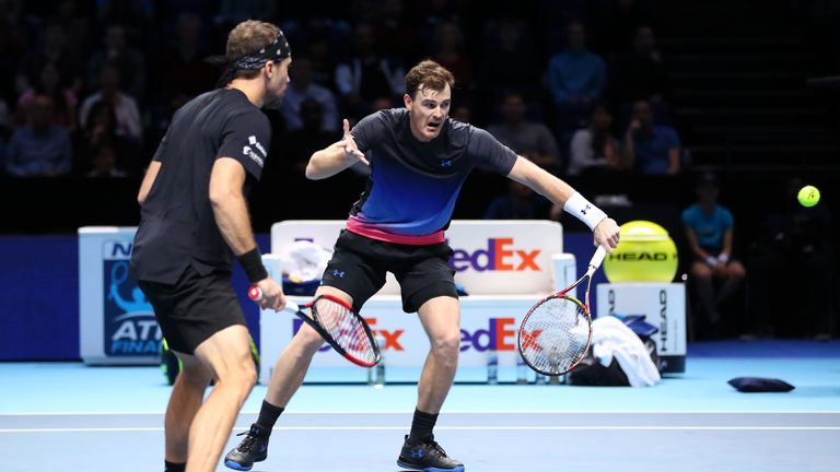 Jamie Murray And Bruno Soares Win Opening Atp Finals Match At The O2