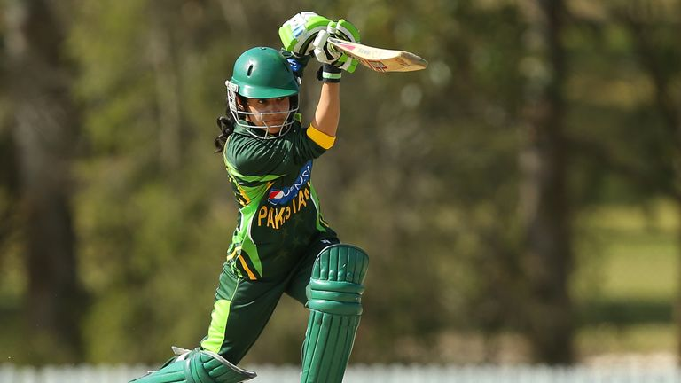 Javeria Khan will captain Pakistan in the World T20 after Sana Mir was sacked last year