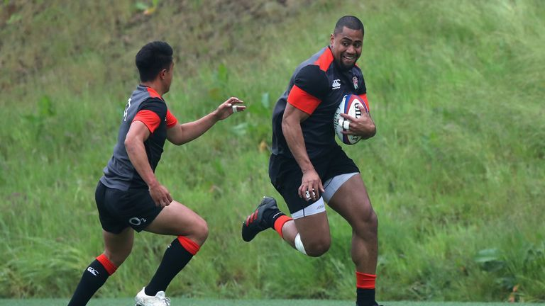 Eddie Jones is excited about Joe Cokanasiga
