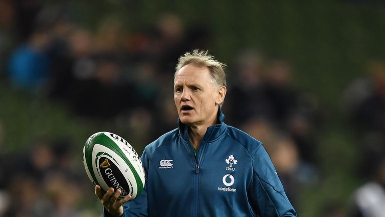 DUBLIN, IRELAND - NOVEMBER 10: Joe Schmidt, head coach of Ireland during the International Friendly match between Ireland and Argentina at Aviva Stadium on November 10, 2018 in Dublin, Ireland. (Photo by Charles McQuillan/Getty Images)