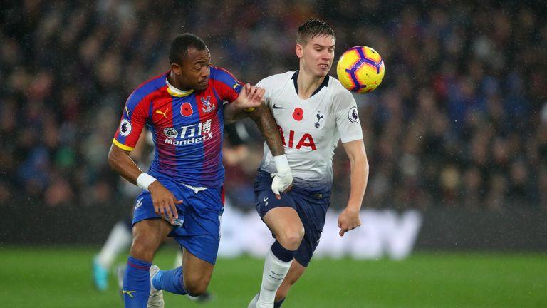 Tottenham beat Crystal Palace 1-0 at Selhurst Park in November