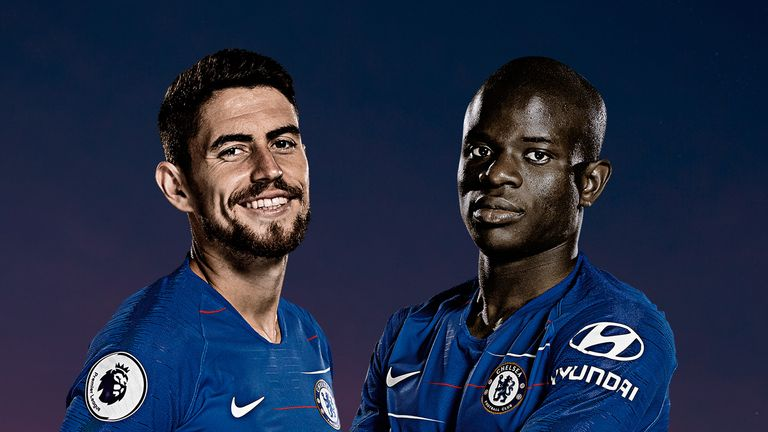 Jorginho and N'Golo Kante's roles were debated on MNF