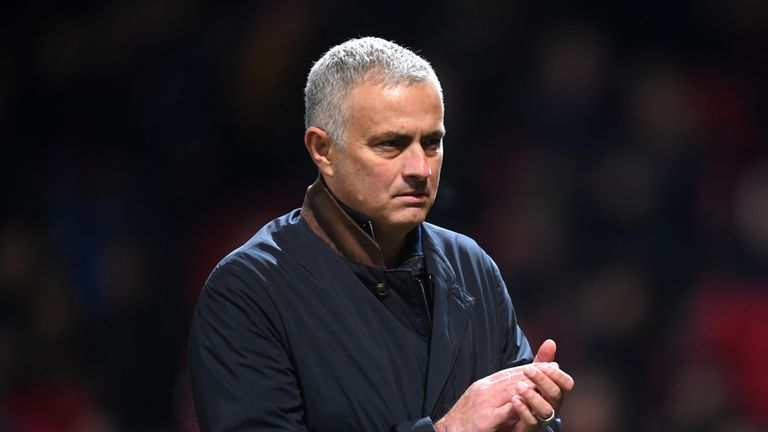 Jose Mourinho says Manchester United finishing in Premier League top four would be a 'miracle' | Football News |