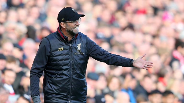 Jurgen Klopp was pleased with his team's performance against Fulham