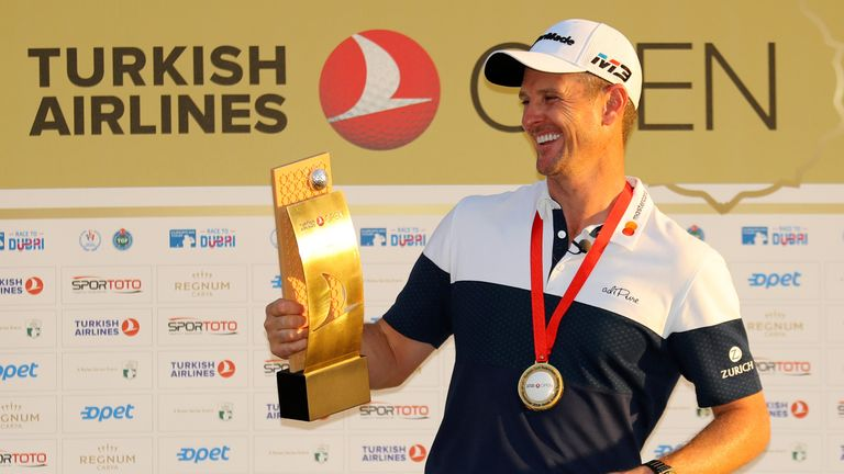 Justin Rose is back-to-back Turkish Airlines Open champion