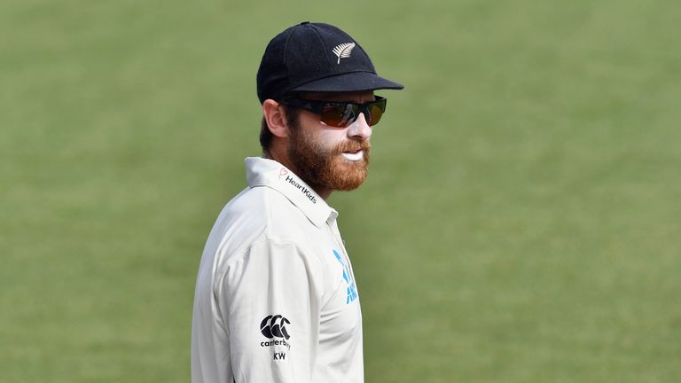 New Zealand captain Kane Williamson led his side to a tense four-run victory over Pakistan