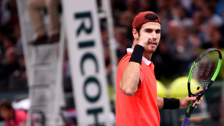 Khachanov blows Zverev away to make Paris semi-finals