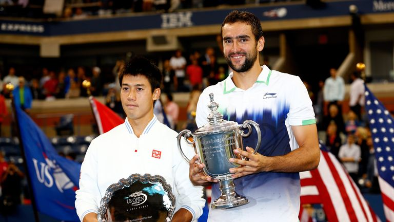 He fell to Marin Cilic in the final of the 2014 US Open