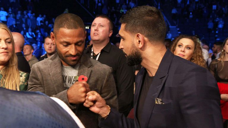 Brook met up with Khan in Manchester on November 10