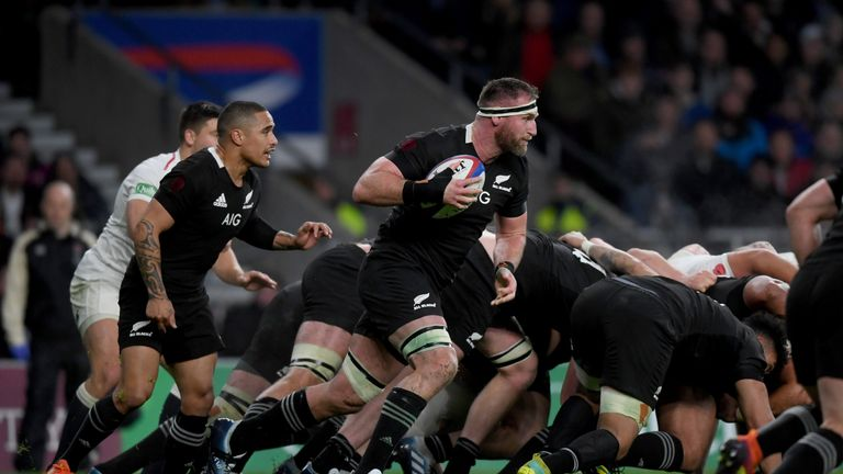 Read and the All Blacks are in Dublin this week to face Ireland