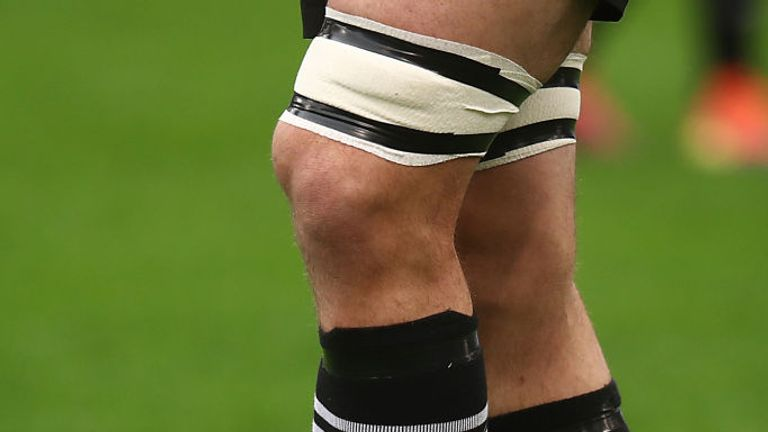 All Blacks captain Kieran Read wore rainbow laces during their win against Italy in Rome on Saturday