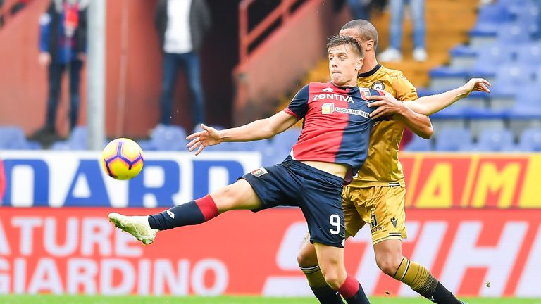Piatek has made a star in A series in the early months of the season