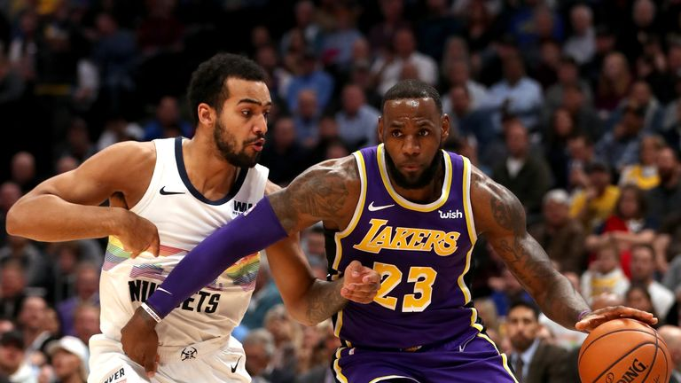Lonzo Ball plays down ankle injury after Los Angeles Lakers loss to Denver Nuggets | NBA News |