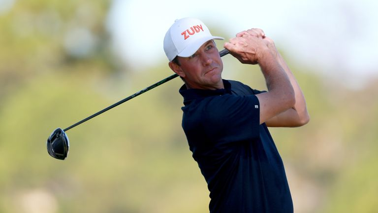 Lucas Glover charged into third place after a stunning 61
