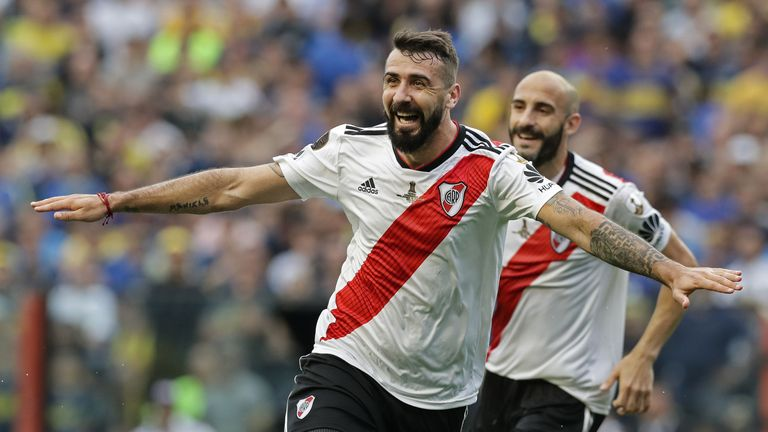 Lucas Pratto levelled for River Plate