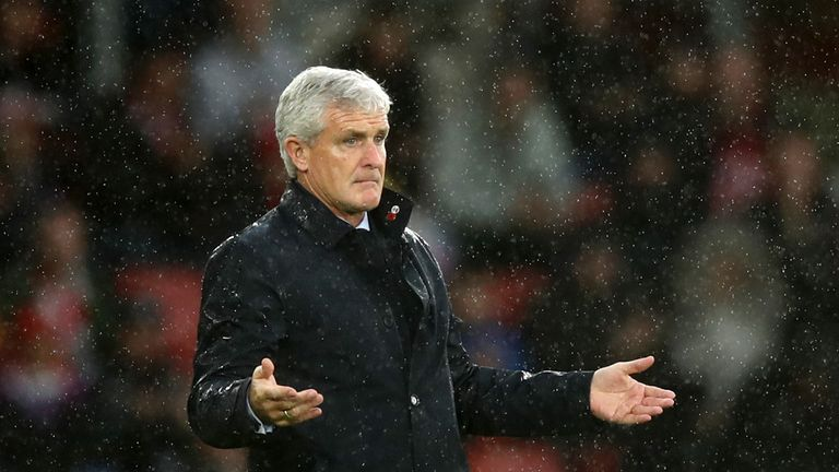 Mark Hughes' side have been guilty of dropping points from winning positions